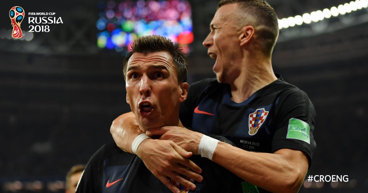 Croatia vs England (2-1): Croatia beat England 2-1 to set up summit clash with France in FIFA World Cup 2018 Finals