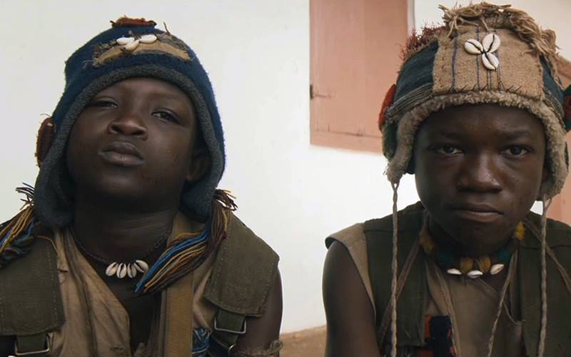 Striker of 'Beast of No Nation' now a beggar at Kaneshie market but Abraham Attah is a hero