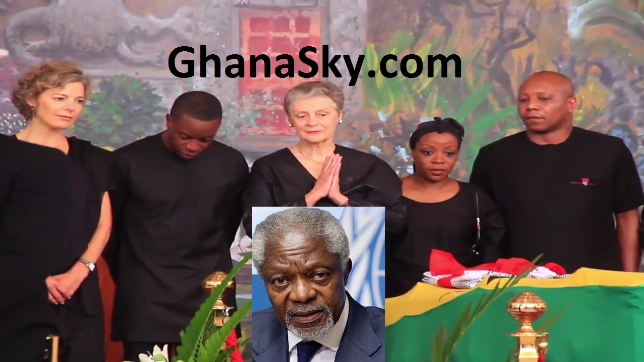 Mr. Kofi Annan's wife, dignitaries pay last respects ahead of burial