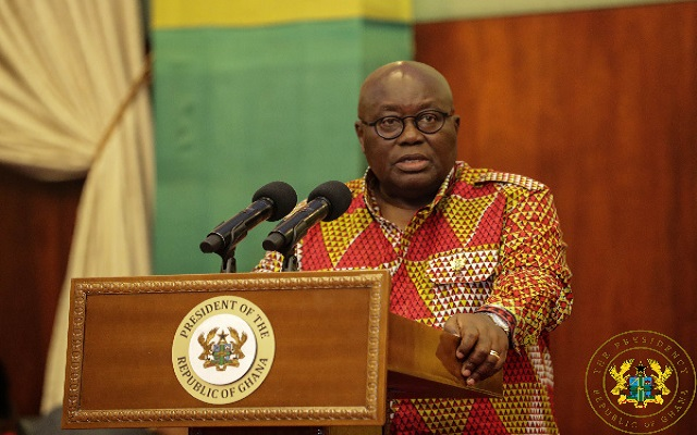 President Akufo-Addo pledges GHC100K for National Cathedral