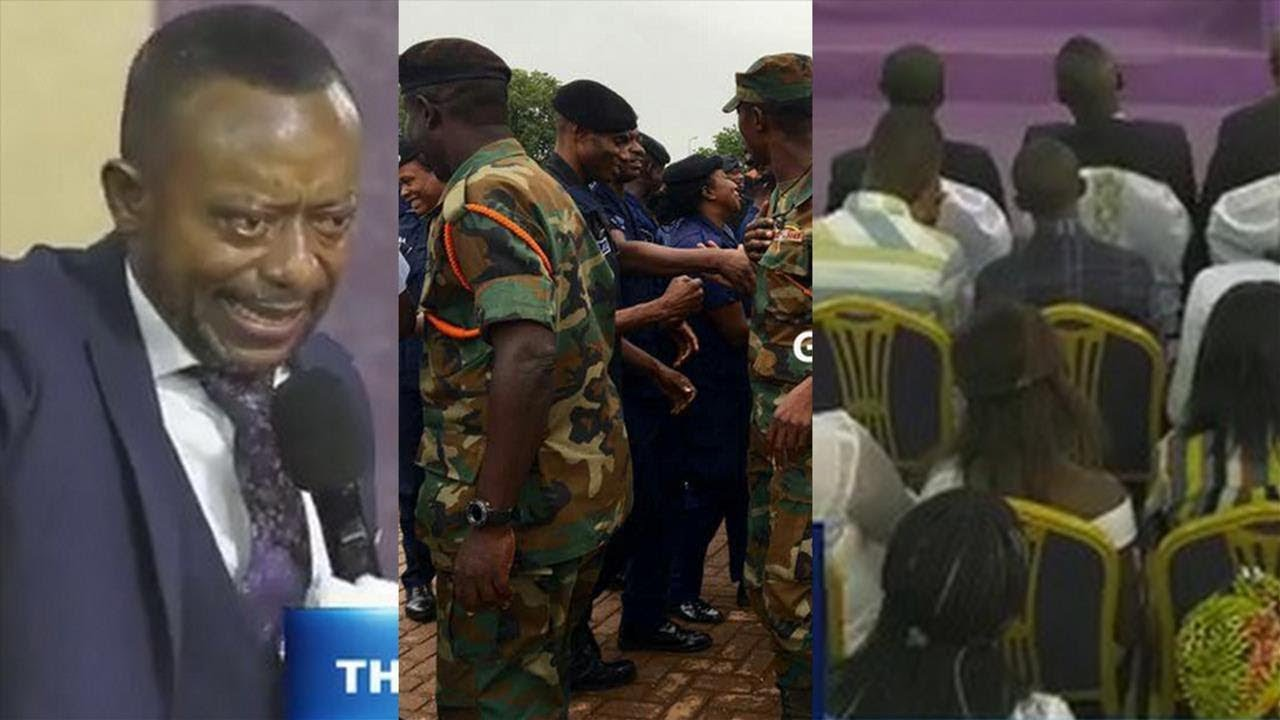 Rev. Owusu Bempah's church was highly guarded, members full on this Sunday (6th Jan 2019), after the Muslims' Zongo Youth Attack [Watch Video]