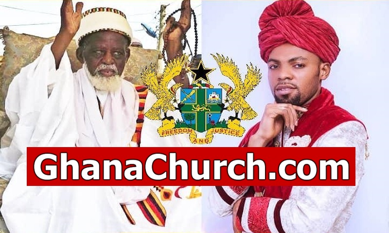 Rev Obofour - 'The PEACEmaker', visited National Chief Imam with goods [Watch Video]