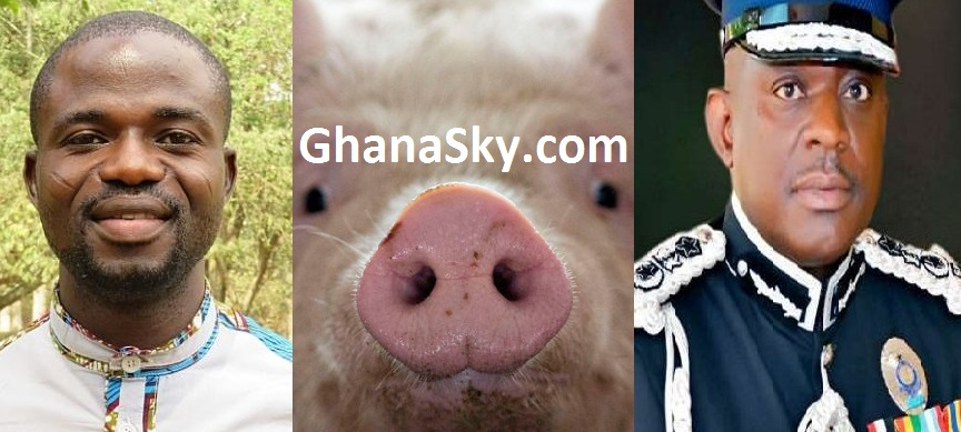 You're an 'impotent pig', a 'useless political puppet' – Manasseh attacks IGP Asante-Apeatu