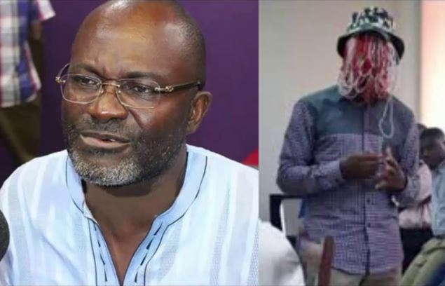 NPP Member of Parliament for Assin Central, Kennedy Agyapong And Anas Aremeyaw Anas