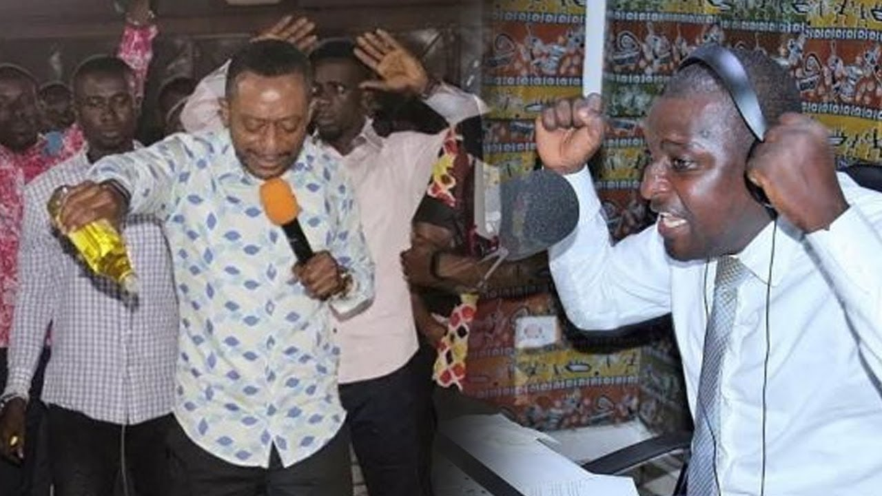 Pastor Owusu Bempah Storms Radio XYZ, Threatens To Kill Mugabe Maase [Video]