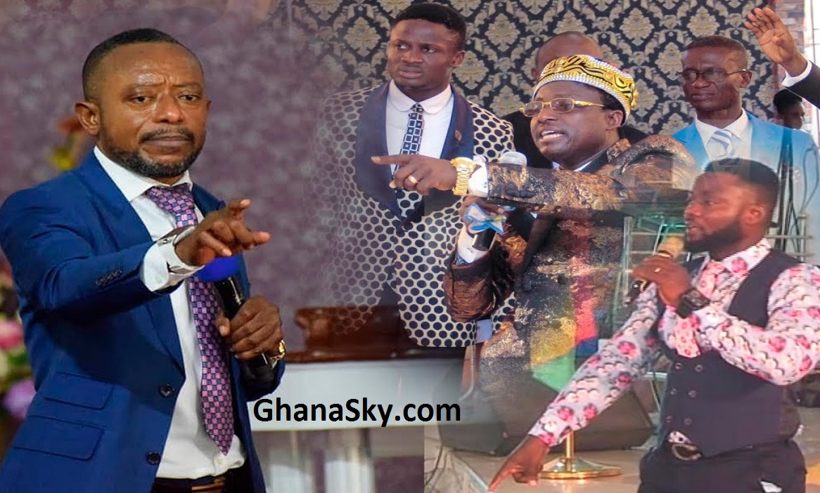 Rev Isaac Owusu Bempah is spiritually married to his mother - Opambour's Junior Pastors, Stop bleaching [Video]