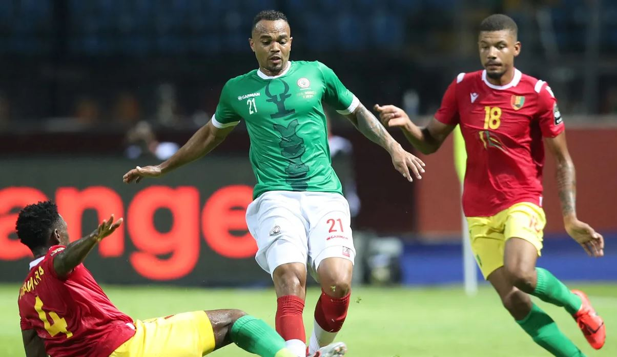 Guinea vs Madagascar [2:2] - Historical point for Madagascar as they hold Guinea at AFCON 2019