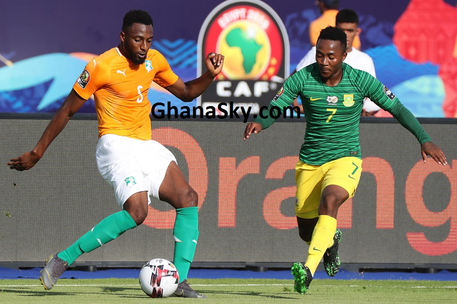 Côte d'Ivoire vs South Africa [1:0] - Kodjia sends Ivorians (Ivory Coast) coasting over Bafana Bafana of South Africa