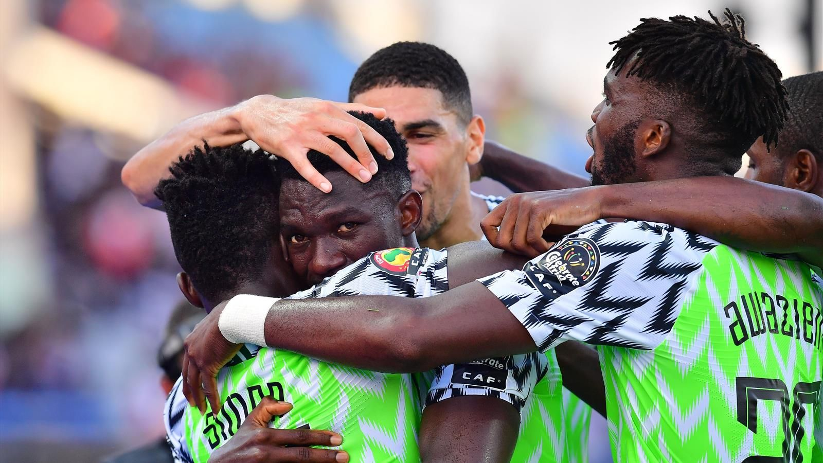Nigeria vs Guinea [1-0 ] - Kenneth Omeruo header seals qualification