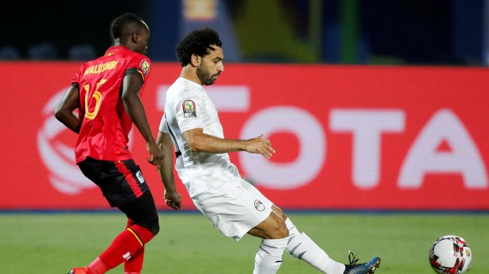 Uganda vs Egypt [0:2] Highlights And Goals, Egypt wins Group A in grand style at AFCON 2019