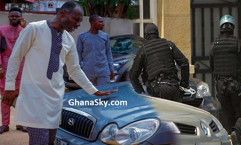NPP's Abronye DC & ERNEST BEMPAH ƐXPOSED Prophet Badu Kobi as lNTERPOL chases Him for ST0LEN CAR [Watch Video]