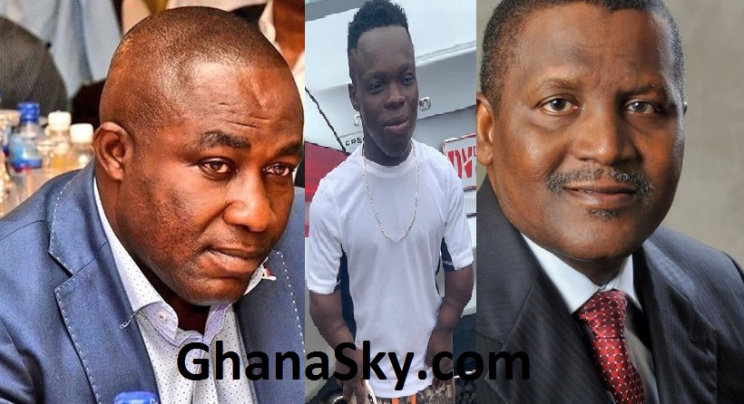 Osei Kwame Despite, Shatta Bundles And Aliko Dangote