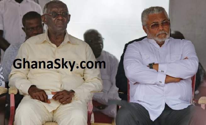 A 'hypocrite' like you must shut up about integrity – Kufuor to Rawlings