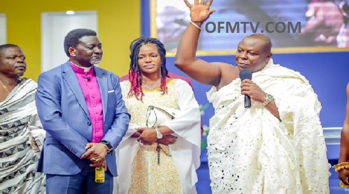 Bishop Charles Agyinasare stopped the rain – Togbuiga Amenya Fiti V testifies [Video]