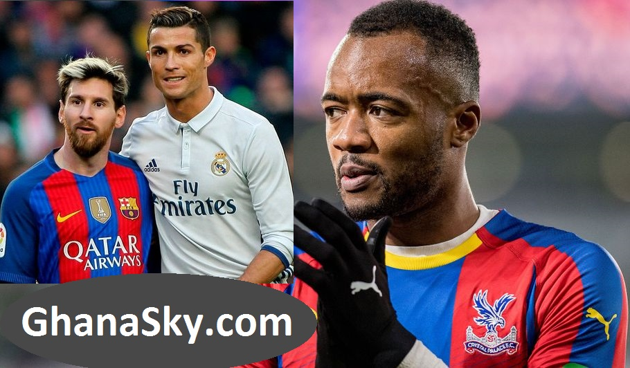 Jordan Ayew ranked 7th best player in Europe Ahead of Messi and Cristiano Ronaldo