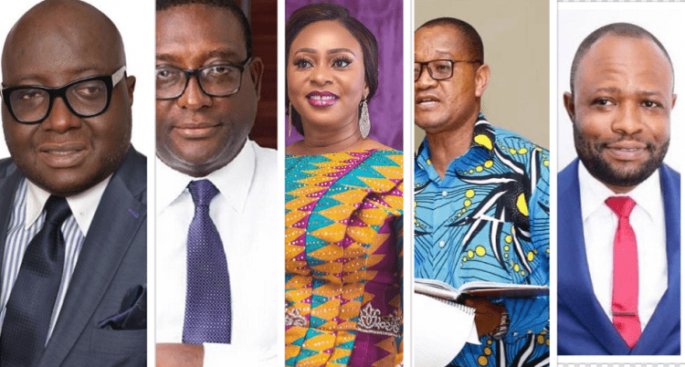 Defeated New Patriotic Party (NPP) MPs versus the winners (Full list)