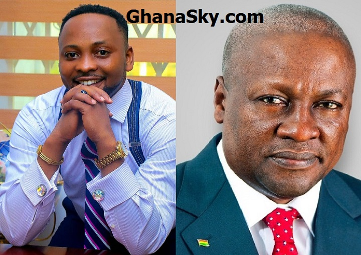 Former President John Mahama vows a peaceful campaign as he encounters the UN Peace Ambassador Dr Sam Owusu