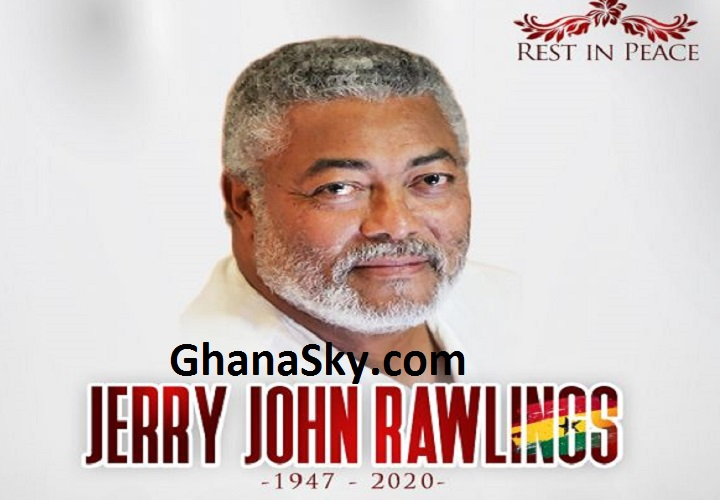 Official Biography And Profile Of Ex-president Jerry John Rawlings - Age, Family, Education, Career, Life & Death