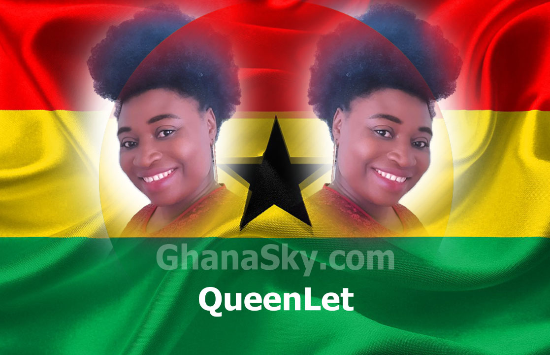 Certified Germany Nurse, Gospel Artist QueenLet Appeals To Ghana Government to FINE anyone without face mask...